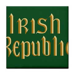 The Irish Republic Flag (1916, 1919 1922) Tile Coasters by abbeyz71