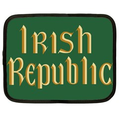 The Irish Republic Flag (1916, 1919 1922) Netbook Case (xxl)  by abbeyz71