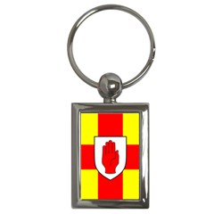 Flag Of The Province Of Ulster  Key Chains (rectangle)  by abbeyz71