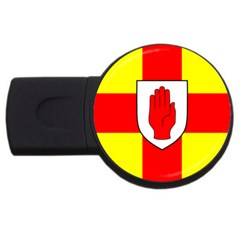 Flag Of The Province Of Ulster  Usb Flash Drive Round (2 Gb) by abbeyz71