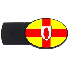 Flag Of The Province Of Ulster  Usb Flash Drive Oval (2 Gb) by abbeyz71
