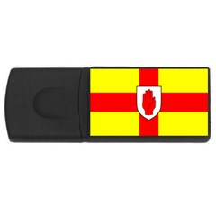 Flag Of The Province Of Ulster  Usb Flash Drive Rectangular (4 Gb) by abbeyz71