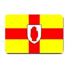 Flag Of The Province Of Ulster  Small Doormat  by abbeyz71