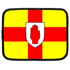 Flag Of The Province Of Ulster  Netbook Case (large) by abbeyz71
