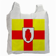 Flag Of The Province Of Ulster  Recycle Bag (one Side) by abbeyz71