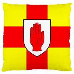 Flag Of The Province Of Ulster  Large Cushion Case (one Side) by abbeyz71