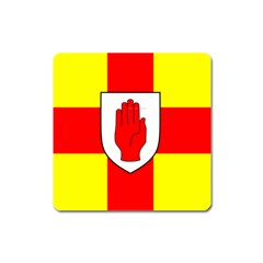 Flag Of The Province Of Ulster  Square Magnet by abbeyz71
