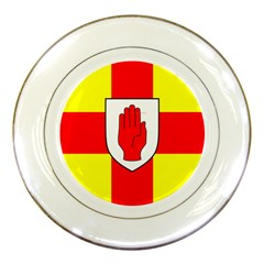 Flag Of The Province Of Ulster  Porcelain Plates by abbeyz71
