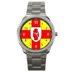 Flag Of The Province Of Ulster  Sport Metal Watch