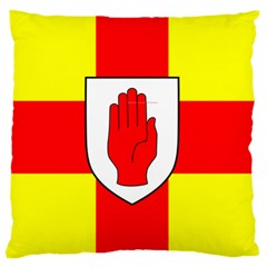 Flag Of The Province Of Ulster  Large Flano Cushion Case (one Side) by abbeyz71