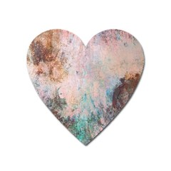 Cold Stone Abstract Heart Magnet by digitaldivadesigns