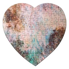 Cold Stone Abstract Jigsaw Puzzle (heart) by digitaldivadesigns