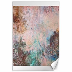 Cold Stone Abstract Canvas 24  X 36  by digitaldivadesigns