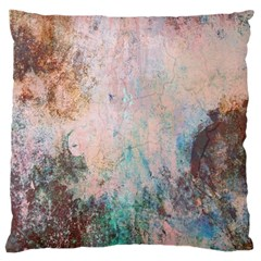 Cold Stone Abstract Large Cushion Case (two Sides) by digitaldivadesigns