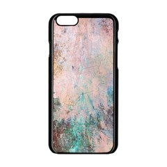Cold Stone Abstract Apple Iphone 6/6s Black Enamel Case by digitaldivadesigns