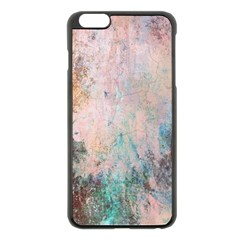 Cold Stone Abstract Apple Iphone 6 Plus/6s Plus Black Enamel Case by digitaldivadesigns