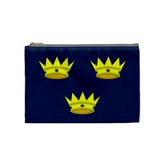 Flag Of Irish Province Of Munster Cosmetic Bag (medium)  by abbeyz71