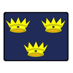 Flag Of Irish Province Of Munster Double Sided Fleece Blanket (small)  by abbeyz71