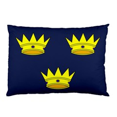 Flag Of Irish Province Of Munster Pillow Case (two Sides) by abbeyz71