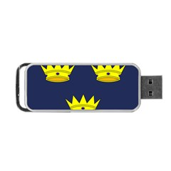 Flag Of Irish Province Of Munster Portable Usb Flash (one Side) by abbeyz71