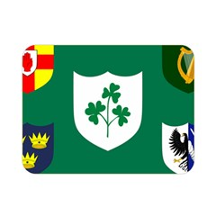Ireland National Rugby Union Flag Double Sided Flano Blanket (mini)  by abbeyz71