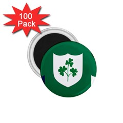 Ireland National Rugby Union Flag 1 75  Magnets (100 Pack)  by abbeyz71
