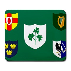 Ireland National Rugby Union Flag Large Mousepads by abbeyz71