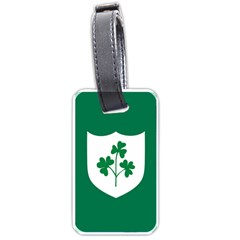 Ireland National Rugby Union Flag Luggage Tags (one Side)  by abbeyz71
