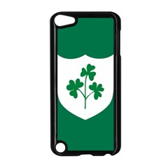 Ireland National Rugby Union Flag Apple Ipod Touch 5 Case (black) by abbeyz71