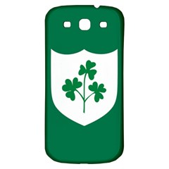 Ireland National Rugby Union Flag Samsung Galaxy S3 S Iii Classic Hardshell Back Case by abbeyz71