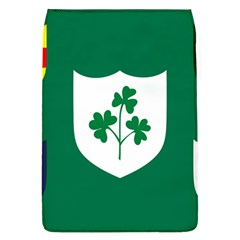 Ireland National Rugby Union Flag Flap Covers (l)  by abbeyz71