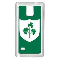Ireland National Rugby Union Flag Samsung Galaxy Note 4 Case (white)