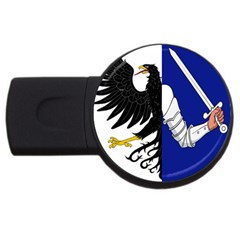 Flag Of Connacht Usb Flash Drive Round (4 Gb) by abbeyz71