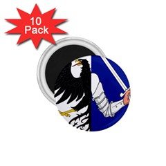 Flag Of Connacht 1 75  Magnets (10 Pack)