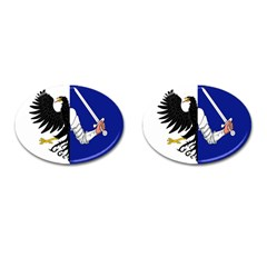 Flag Of Connacht Cufflinks (oval) by abbeyz71