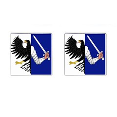 Flag Of Connacht Cufflinks (square) by abbeyz71