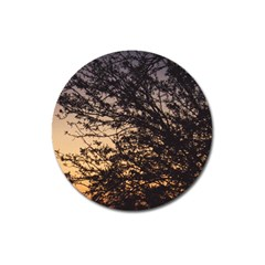 Arizona Sunset Magnet 3  (round) by JellyMooseBear