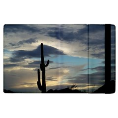 Cactus Sunset Apple Ipad 3/4 Flip Case by JellyMooseBear