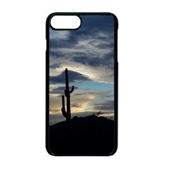 Cactus Sunset Apple Iphone 7 Plus Seamless Case (black) by JellyMooseBear