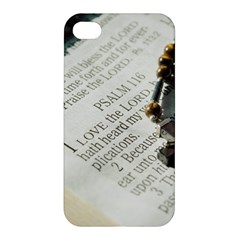 I Love The Lord Apple Iphone 4/4s Hardshell Case by JellyMooseBear