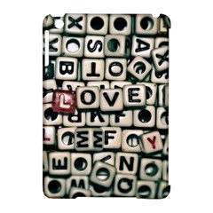 Love Apple Ipad Mini Hardshell Case (compatible With Smart Cover) by JellyMooseBear