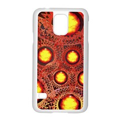 Mechanical Universe Samsung Galaxy S5 Case (white) by linceazul