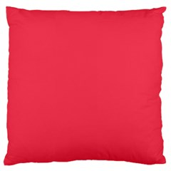 Neon Color   Brilliant Amaranth Standard Flano Cushion Case (two Sides) by tarastyle