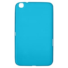 Neon Color   Brilliant Arctic Blue Samsung Galaxy Tab 3 (8 ) T3100 Hardshell Case  by tarastyle