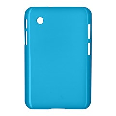 Neon Color   Brilliant Cerulean Samsung Galaxy Tab 2 (7 ) P3100 Hardshell Case  by tarastyle