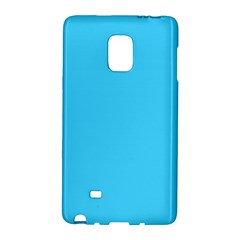 Neon Color   Brilliant Cerulean Galaxy Note Edge by tarastyle