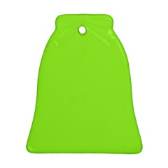 Neon Color   Brilliant Charteuse Green Ornament (bell) by tarastyle