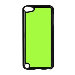 Neon Color   Brilliant Charteuse Green Apple Ipod Touch 5 Case (black) by tarastyle