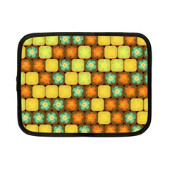 Random Hibiscus Pattern Netbook Case (small)  by linceazul