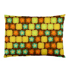 Random Hibiscus Pattern Pillow Case by linceazul
